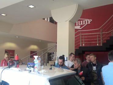 Udział w Warsztatach Oklejania Pojazdów, Atrium – Opole