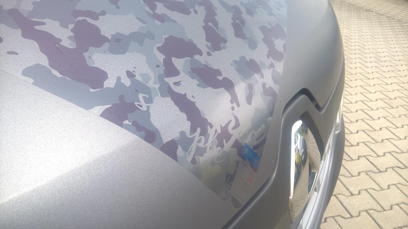 Folia 3M Print Wrap Film transparentna w akcji