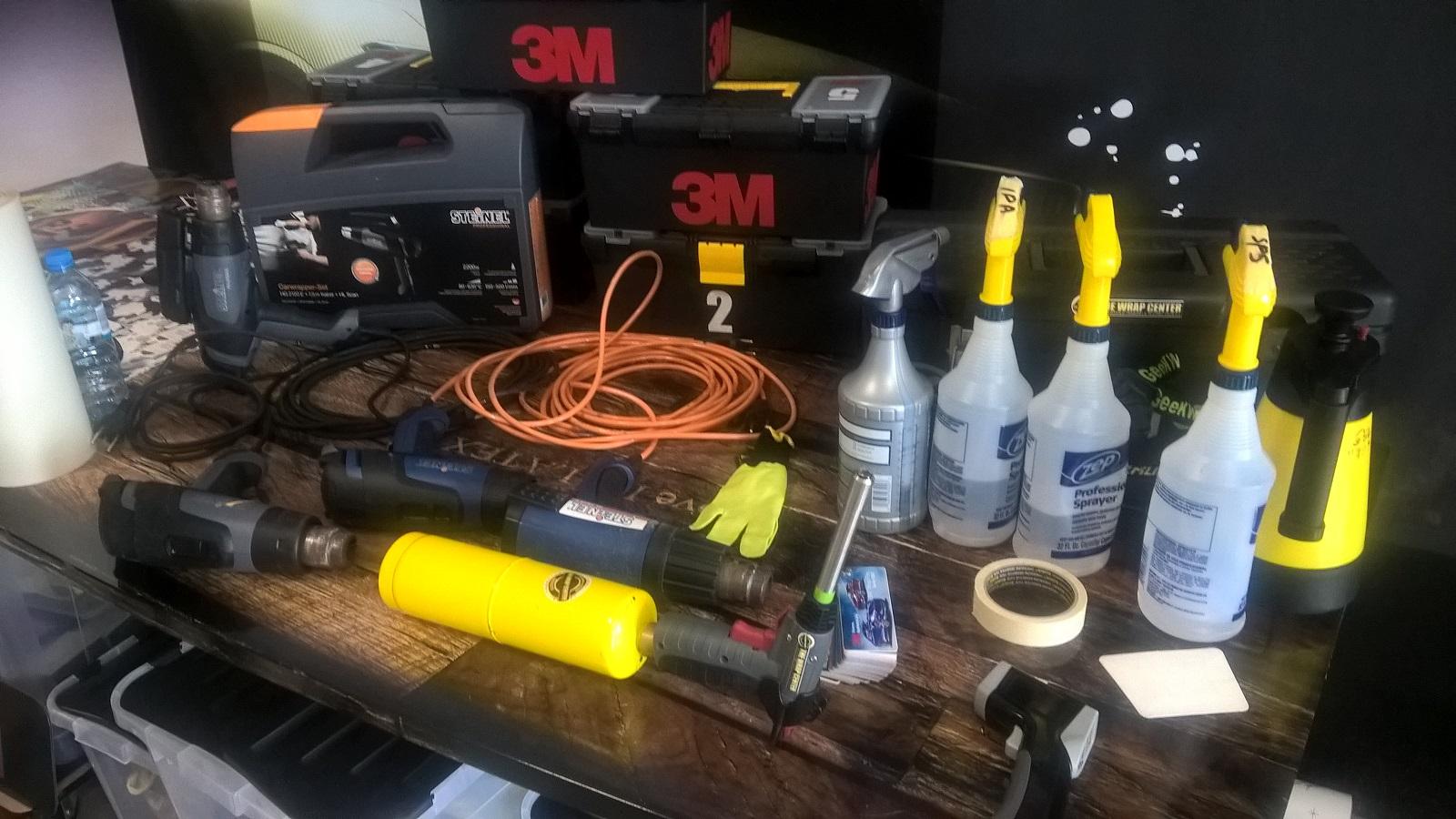Profesjonalne akcesoria 3M na pierwszym planie: palnik gazowy :)