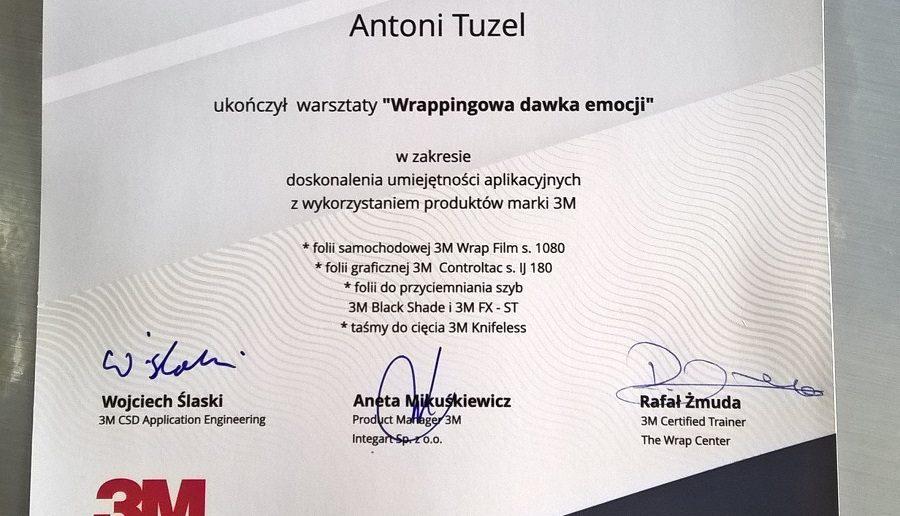 Cenny autograf Rafała Żmudy