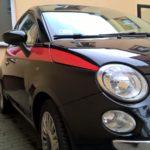 Fiat 500 – zmiana stylizowanych pasków