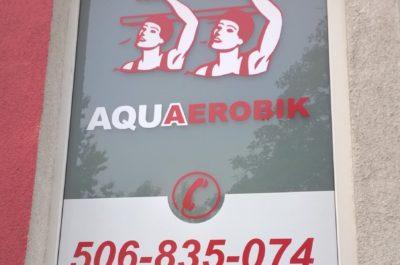 Aqua Aerobik – pomysł na okno