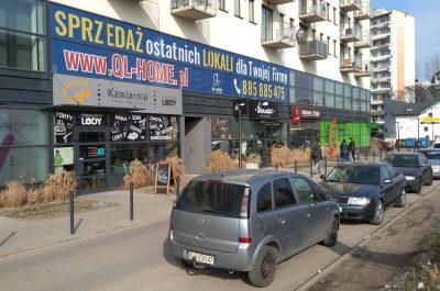 Aplikacja folii OWV na oknach lokalu biurowego