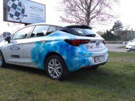 Oklejanie samochodu OPEL Astra