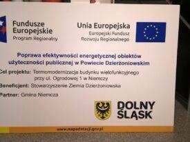 Tablice informacyjne na potrzeby Funduszy Unijnych