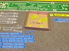 Oznaczenia kierunkowe i BHP rurociągów