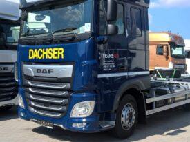 Całościowa zmiana koloru kabiny DAF XF 480