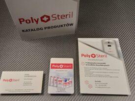 Materiały poligraficzne dla nowej linii produktów